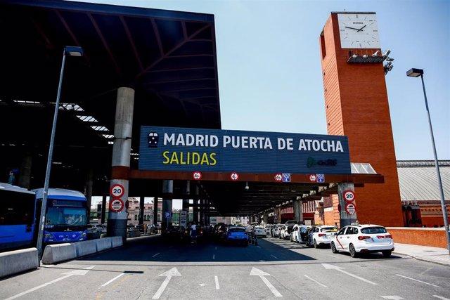 Estación de tren de Puerta de Atocha de Madrid