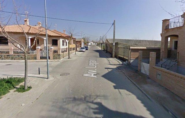 Avenida de Lepanto de La Mata (Toledo)