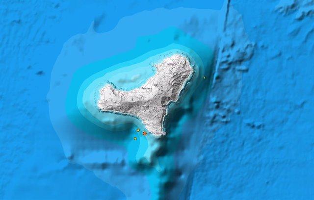 Localización de los sismos