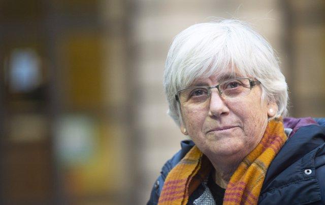 L'exconsellera i professora a la Universitat de St Andrews Clara Ponsatí a Edinburg, Escòcia. Foto: Lesley Martin/PA Wire/dpa