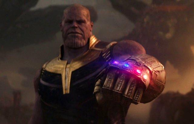 Thanos en Vengadores: Infnity War