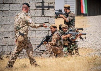 Alemania reanuda la formación de militares kurdos en el norte de Irak tras el paréntesis por la tensión con Irán