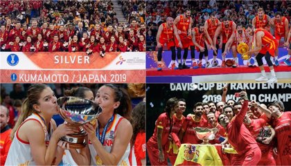 Las selecciones de baloncesto, el equipo de Copa Davis y las 'Guerreras' reciben este lunes sus Premios APDM