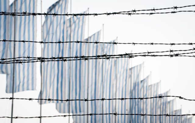 24 de gener del 2020, Polònia, Oswiecim: Camp d'Auschwitz. Foto: Kay Nietfeld/dpa