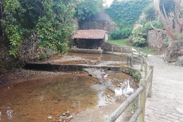 Lavadero Acebosa, en Cantabria