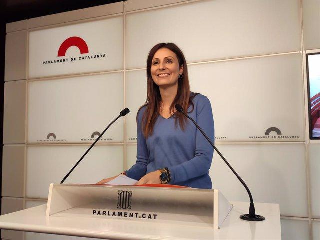 La líder de Cs a Catalunya, Lorena Roldán, en una foto d'arxiu.