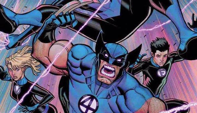La nueva verisón de Los 4 Fantásticos en los cómics