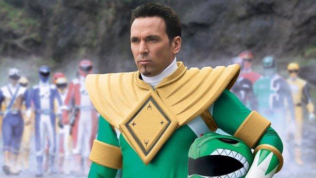 Jason David Frank como el Power Ranger verde
