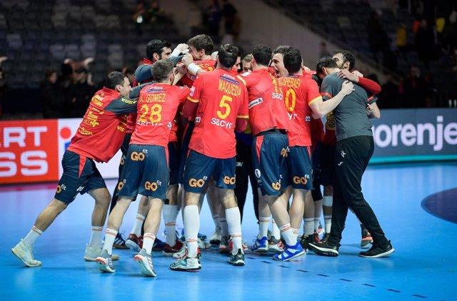 La selecció espanyola d'handbol