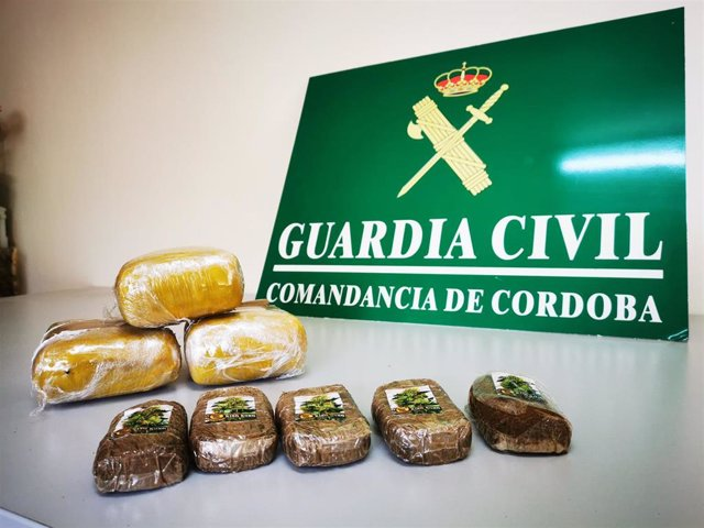 Droga intervenida en Córdoba