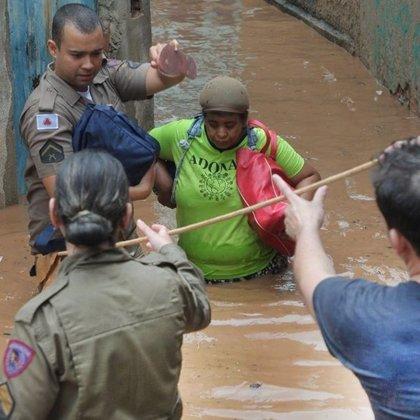 Brasil.- Ya son 37 los muertos por las lluvias torrenciales en Brasil