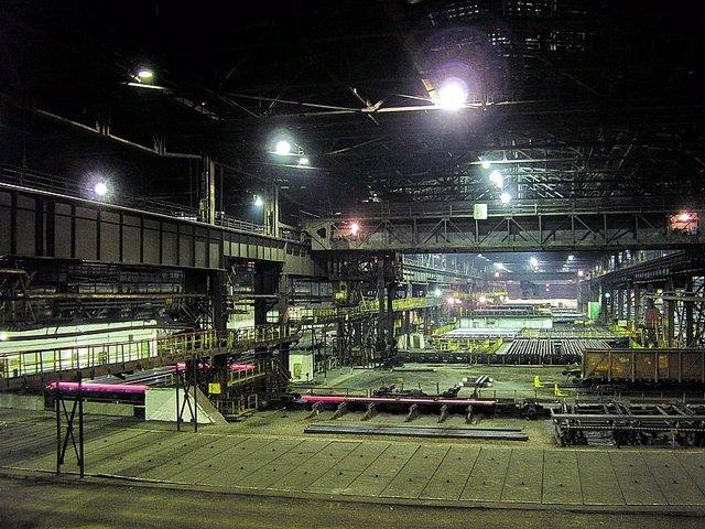 Imagen de archivo de una empresa metalúrgica