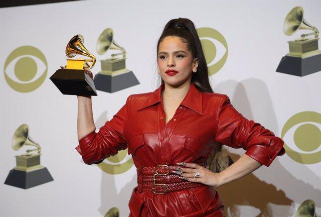 Rosalía guanya un Grammy amb 'El mal querer'