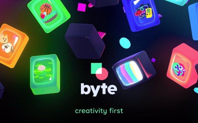 Aplicación de vídeos cortos en bucle Byte