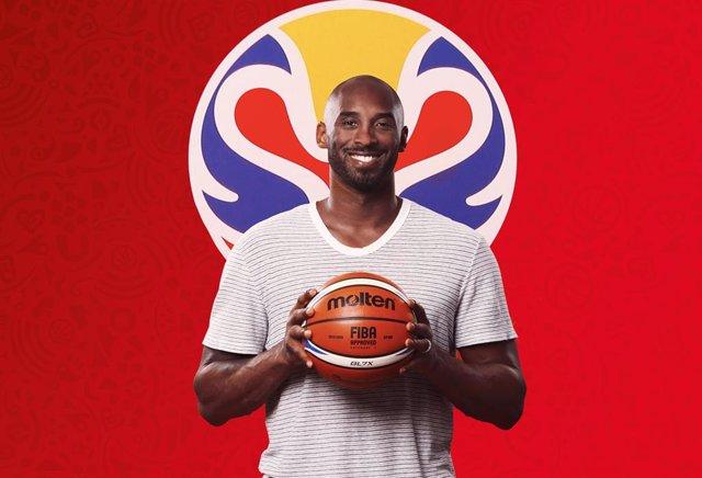 Kobe Bryant, nomenat ambaixador del Mundial de la Xina 2019 (Arxiu)