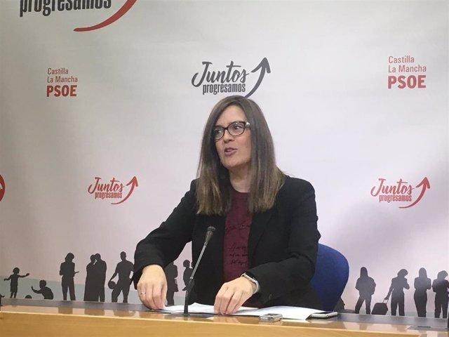 La dputación del PSOE, Esther Padilla.