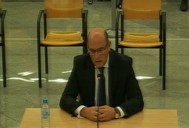 Declara com a testimoni el coronel de la Guàrdia Civil Diego Pérez de los Cobos en el judici a l'Audiència Nacional contra la cúpula dels Mossos per el 1-O.
