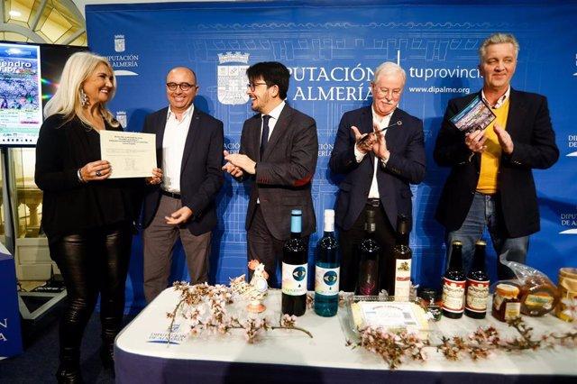 Diputación presenta las Rutas del Almendro en Flor FilabresAlhamilla y las jornadas gastronómicas