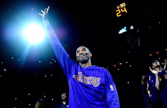 El jugador de los Lakers Kobe Bryant