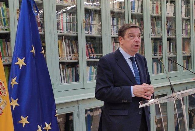 Luis Planas, ministro de Agricultura, Pesca y Alimentación