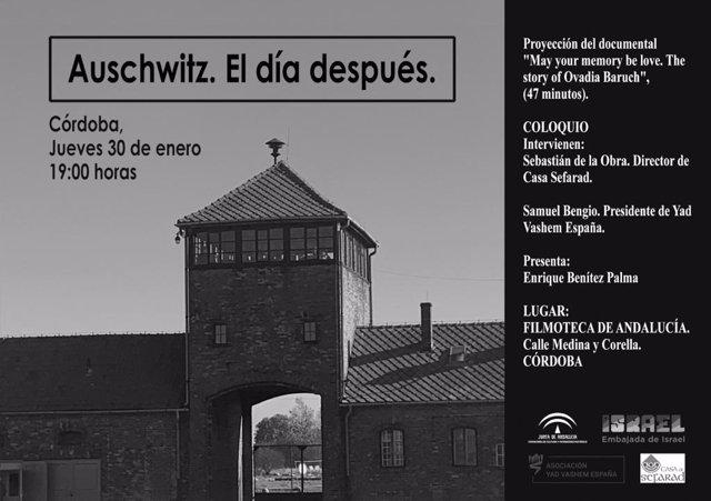 Cartel de la proyección 'May your memory de love'
