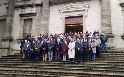 Galicia condena el primer crimen machista del año con concentraciones en las principales instituciones de la comunidad