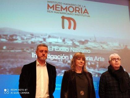 El exilio navarro tras el golpe del 36 centra la propuesta de actividades del Instituto de la Memoria para este año