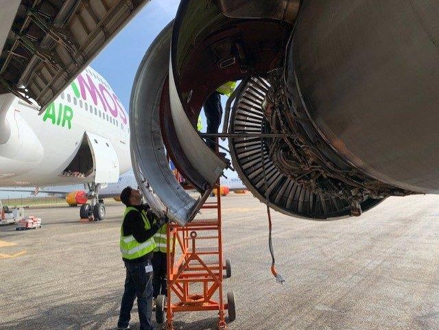 Reciclaje del avión Jumbo Boeing 747