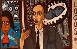El primer cuadro de 'La resistencia mental', dedicado a Viktor Frankl.