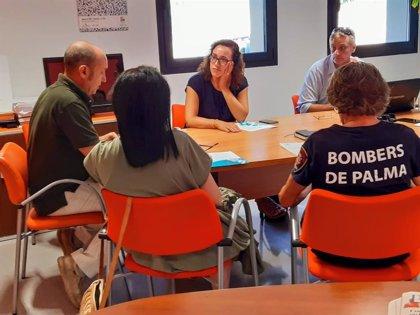 El Ayuntamiento de Palma licita los contratos de los nuevos equipos de respiración y comunicación de los Bomberos