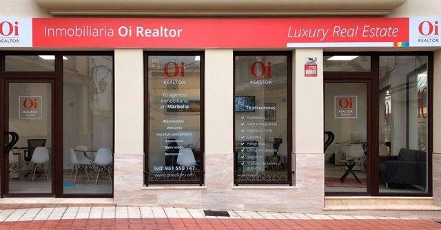 Nueva oficina Oi Realtor en Marbella