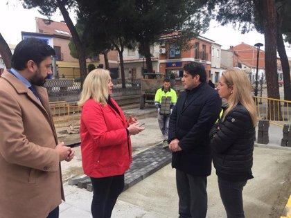 La Comunidad destina 550.000 euros del PIR para remodelar la Plaza de la Constitución de Humanes