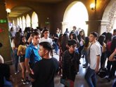 Foto: Chile.- Enfrentamientos entre Carabineros y estudiantes durante los exámenes de acceso a la universidad en Chile