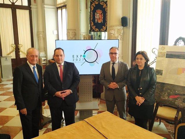 Presentación del proyecto para que Málaga sea candidata de la Exposición Internacional 2027