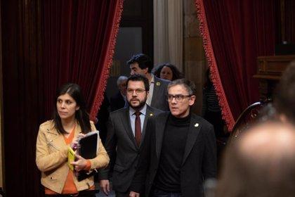 """ERC pide a Torra aprobar los Presupuestos y dice: """"No somos el rival, somos su aliado"""""""