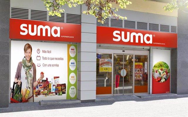 Imagen de un supermercado franquiciado SUMA de GM Food