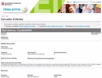 El SOC revisa cómo se publican las ofertas de empleo y las filtrará antes de colgarlas