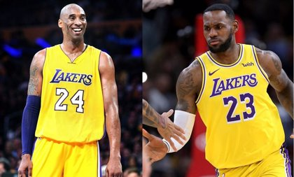 BBC usa imágenes de LeBron James al informar la muerte de Kobe Bryant