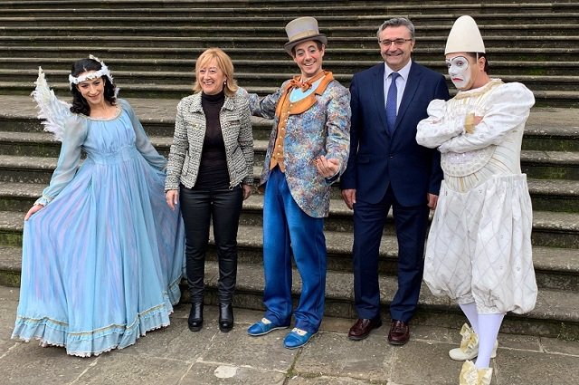 Las acrobacias del Cirque du Soleil llegan a la Casa Palacio de la Diputación