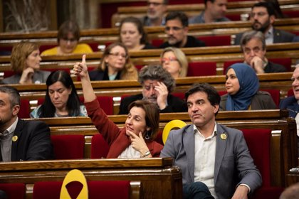 ERC ofrece a JxCat que Torra vote en los plenos sin contabilizarlo hasta que haya sentencia firme
