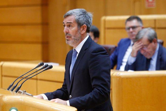 El senador de CC Fernando Clavijo