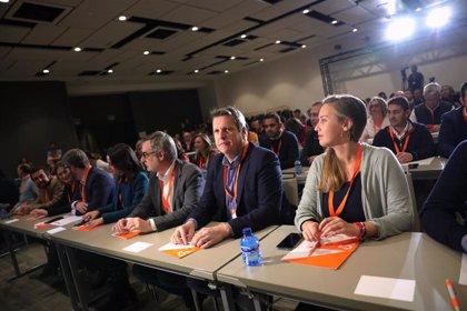 Los afiliados de Ciudadanos podrán elegir a 362 compromisarios para la Asamblea General, casi un 25% menos que en 2017