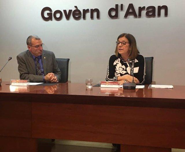 La vicepresidenta de la Corporació Catalana de Mitjans Audiovisuals (CCMA), Núria Llorach