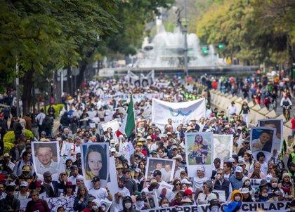 La 'Caravana por la paz' rechaza dialogar con López Obrador si no cambia de estrategia en materia de seguridad