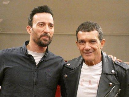 Antonio Banderas aterriza en Barcelona con su 'A Chorus Line'