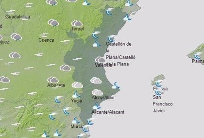 Las temperaturas subirán este martes en la Comunitat y de forma notable las mínimas en el interior
