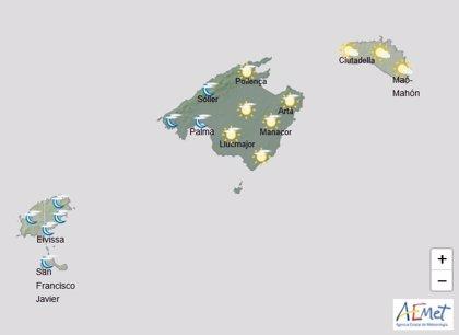 Predicción meteorológica para este martes 28 en Baleares: temperaturas en ascenso