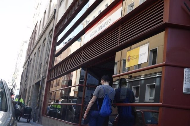 Imagen de recurso de una oficina de empleo Madrid.