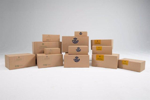 Paquetes de Correos.