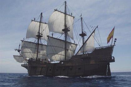 El 'Galeón Andalucía' hará escala en el Puerto de Motril (Granada) y podrá ser visitado por el público